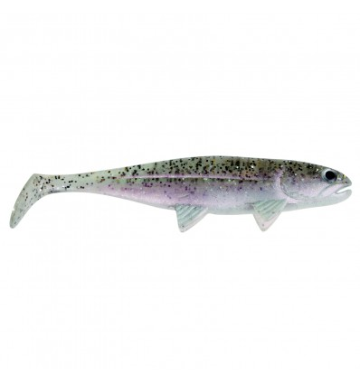§ JACKSON THE FISH 12.5cm #8 SALT N PEPPER SHAD POCHX3 - PRIX NET