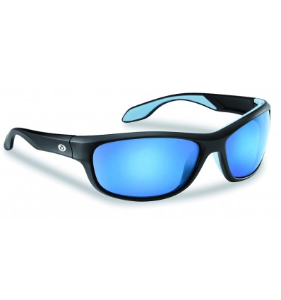 § CAYO MATTE BLACK SMOKE-BLUE MIRROR -PRIX NET