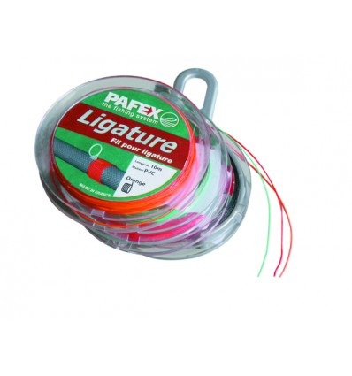 BOBINE 1OM. FIL LIGATURE CELLAQUE ROUGE.