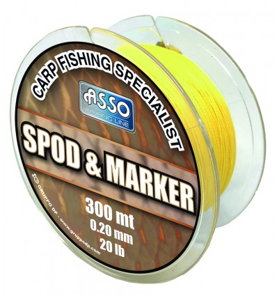 ASSO SPOD MARKER Ø020 YELLOW X300ML