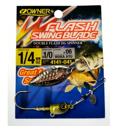 FLASH SWING BLADE 1/4 OZ # 1/0