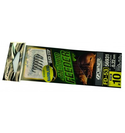 METHOD FEEDER HAM 50168 BARBLESS -QUICK STOP - 10- 0,22 POCHX6
