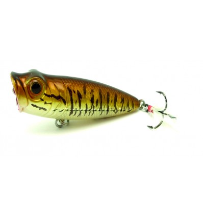 GOBO POPPER, Long 6 cm, 6.3G, ST36BC-8 -11 BROWN TROUT