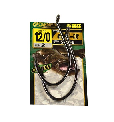 CF-3 CATFISH HOOK 4111- 9-0 POCHX2