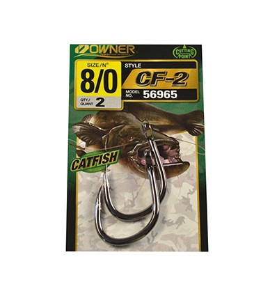 CF-2 CATFISH HOOK 5105 - 6-0 POCHX2