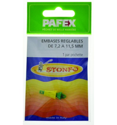 EMBASES REGLABLES DE 11.5 A 17MM POCHX1
